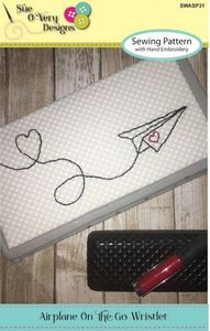 Sue O'Very Designs Airplane On the Go Wristlet Pattern