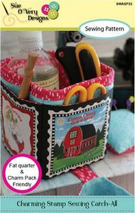 Sue O'Very Designs Charming Stamp Sewing Catch-All Pattern
