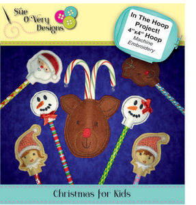 Sue O'Very Designs In The Hoop Christmas for Kids
