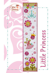 88208: OESD CB115 Little Princess SVG CD by Cherry Blossoms Quilting Studio