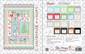 88223: Cherry Blossoms Quilting Studio CB118 Frostys Wonderland