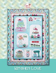 88252: Cherry Blossoms Quilting Studio CB128 Kitchen Love