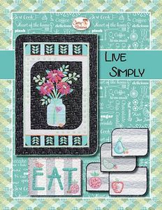 88257: Cherry Blossoms Quilting Studio CB130SVG Live Simply with SVGs Pack
