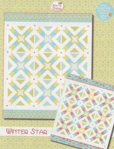 88263: Cherry Blossoms Quilting Studio CB133 Winter Star