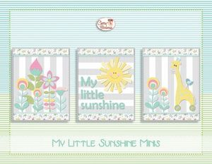 88265: Cherry Blossoms Quilting Studio CB134SVG My Little Sunshine Minis + SVGs