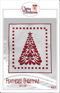 88270: Cherry Blossoms Quilting Studio CBQS101 Feathered Christmas