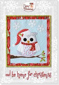88279: Cherry Blossoms Quilting Studio CBQS110 Owl Be Home for Christmas
