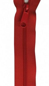 Patterns by Annie ZIP24-260 Atom Red Zipper