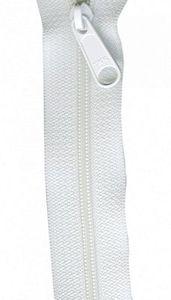 Patterns by Annie ZIP24-100 White Zipper