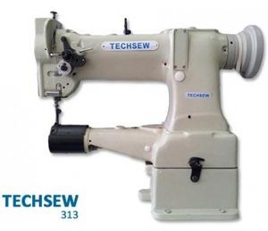 Techsew 313 Industrial Darning Machine , Power Stand, Servo Motor, Lamp