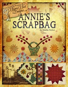 Wagons West Designs, Annie's Scrapbag, WWD201, applique, quilts, table topper, throw, Journal Cover, projects quilting, needlebook