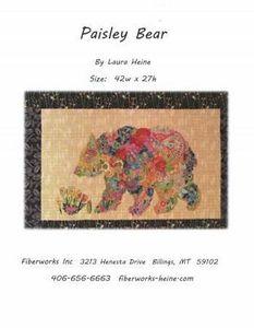 88480: Fiberworks FWLHPB Paisley Bear Pattern