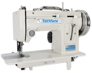 88510: Techsew 611 Pro Portable Walking Foot Straight Stitch ZigZag Machine
