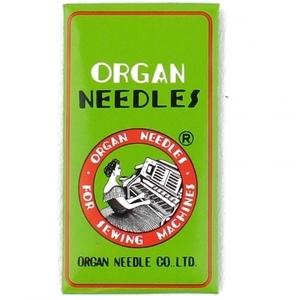 64875: Organ HAx1 15x1 130R, sz 80/12 Chrome Needles 10pk