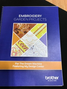 Brother SAEGPB Embroidery Garden Project Book at AllBrands com