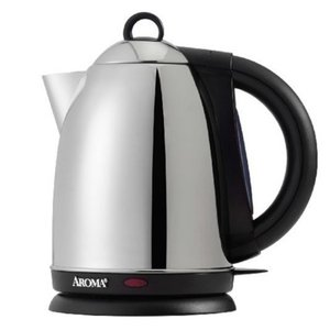 62244: Aroma AWK-125S Hot H20 X-Press 7-Cup Electric Water Kettle