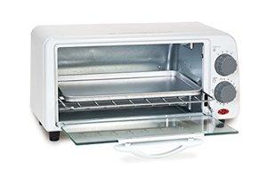 62566: Elite Cuisine ETO-113 2-Slice Toaster Oven with Timer