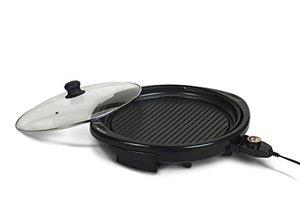 62537: Elite Gourmet EMG-980B 14-Inch Electric Indoor Grill, Black
