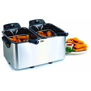 62507: Elite Platinum EDF-3060 6-Quart Deep Fryer, Stainless Steel