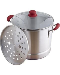 62432: IMUSA Global Kitchen GKA-61014 8-Quart Steamer Stainless Steel