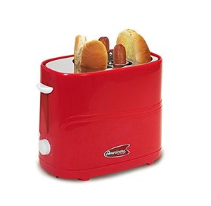 62499: Maxi-Matic Elite Americana ECT-304R MaxiMatic Hot Dog Toaster, Red
