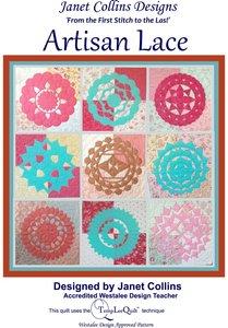 88709: Westalee PATTERN-ARTLACEJC Janet Collins Artisan Lace Book