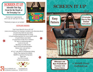 73783: Sew Michelle SM100 Screen It Up Tote Bag Pattern
