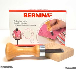 64950: Bernina 032580.70/71 ButtonHole Wood Block & Cutter Kit