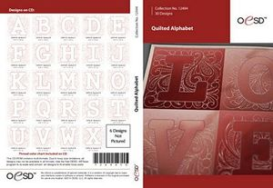 OESD 12494CD Quilted Alphabet CD