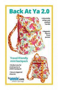 Patterns by Annie PBA226-2 Back at Ya! 2.0 Backpack