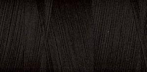 88975: Presencia 43125-60-0007 Egyptian Thread Cotton 60wt 4882yd BLACK