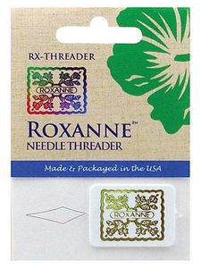 Sewing notions accessories roxanne rx threader needle threader for sewing machines made and packaged in the usa fandeluxe Choice Image