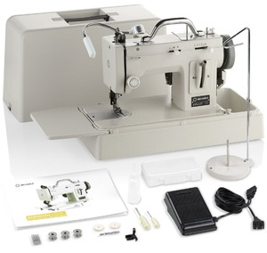 89438: Reliable Barracuda 200ZW Journey Kit Portable Walking Foot Sewing Machine, Case