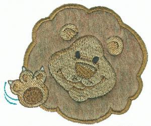 Amazing Designs Sensational Series Plush Pals Lions Card CD