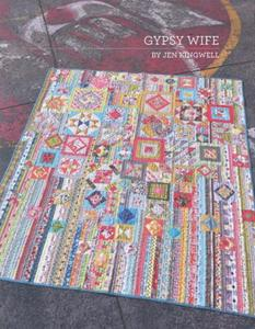 79086: Gypsy Wife JKD 5026 Machine Piecing Quilt Book by Jen Kingwell Desi