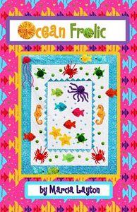 89638: Marcia Layton Designs MLDOF1 Ocean Frolic Quilt Pattern