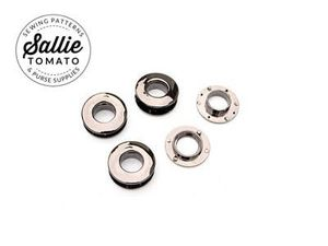 Sallie Tomato STS178GB Dbl Faced Snap Grommets Black