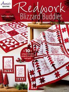 Annie's 1414001 Redwork Blizzard Buddies