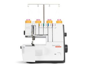 Bernette, b44, Funlock,  simple, beginner, starter, Bernette Funlock B42 4 Thread 3 Needle Coverstitch Hem Sewing Machine