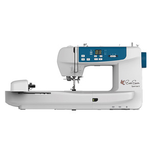 "EverSewn, EverSewn SparrowX 100+ Stitch Sewing and 4.75x7"" Embroidery Machine 100 Designs, Wifi Enabled, Knee Lever, Auto Threader & Trimmers, 650SPM, In Stock"
