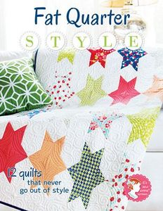 It's Sew Emma ISE904, Fat Quarter Style Book, 60 pages of bright fabrics & fun photography