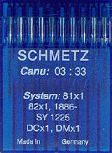 90029: Schmetz Overlock DCX1 sz16/100 10/pkg