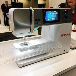 90054: Bernina B480 Sewing Only, Jumbo Bobbin, 9mm Stitch Width, BSR Compatible.