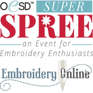 90070: OESD Super Spree 2 Day Hands on Brother Luminaire Embroidery Event March 22-23 2019 Lafayette Retail