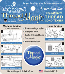 TMST2, Taylor Seville TMROUND, 2 of Thread Magic Rounders, In Line Silicone Thread Conditioners