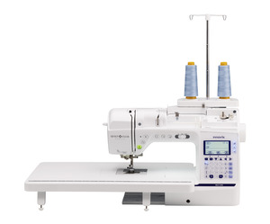 "Brother BQ1350, Babylock Soprano, Quilt Club Sewing Machine 290 Stitches Replaces NQ1300, 8.3"" Arm, Ext Table, AHA Pivot, 15 Feet, Free Motion, Walking, 1/4"" Foot"