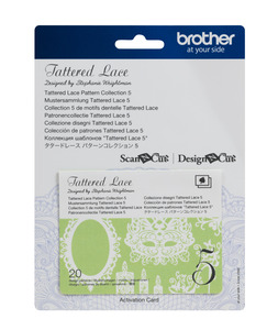 Brother CATTLP05 Tattered Lace Collection 5- for New Scan N Cut SDX225