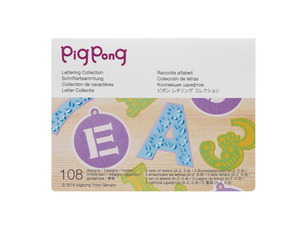 Brother CAPPNP01 Pig Pong Lettering Collection for New Scan N Cut SDX225