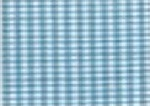 Susie's Ready to Smock Gingham Piping Turquoise S813