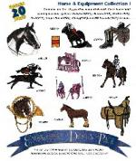 Amazing Designs / Great Notions 1035 Horses and Equipment I Multi-Formatted CD